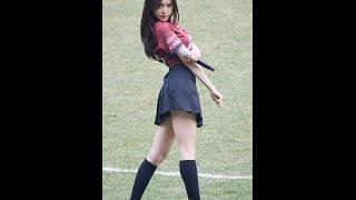 170312 에이핑크 내가 설렐 수 있게 손나은 직캠 Apink Naeun fancam - Only One (대전 시티즌 개막전) by Spinel