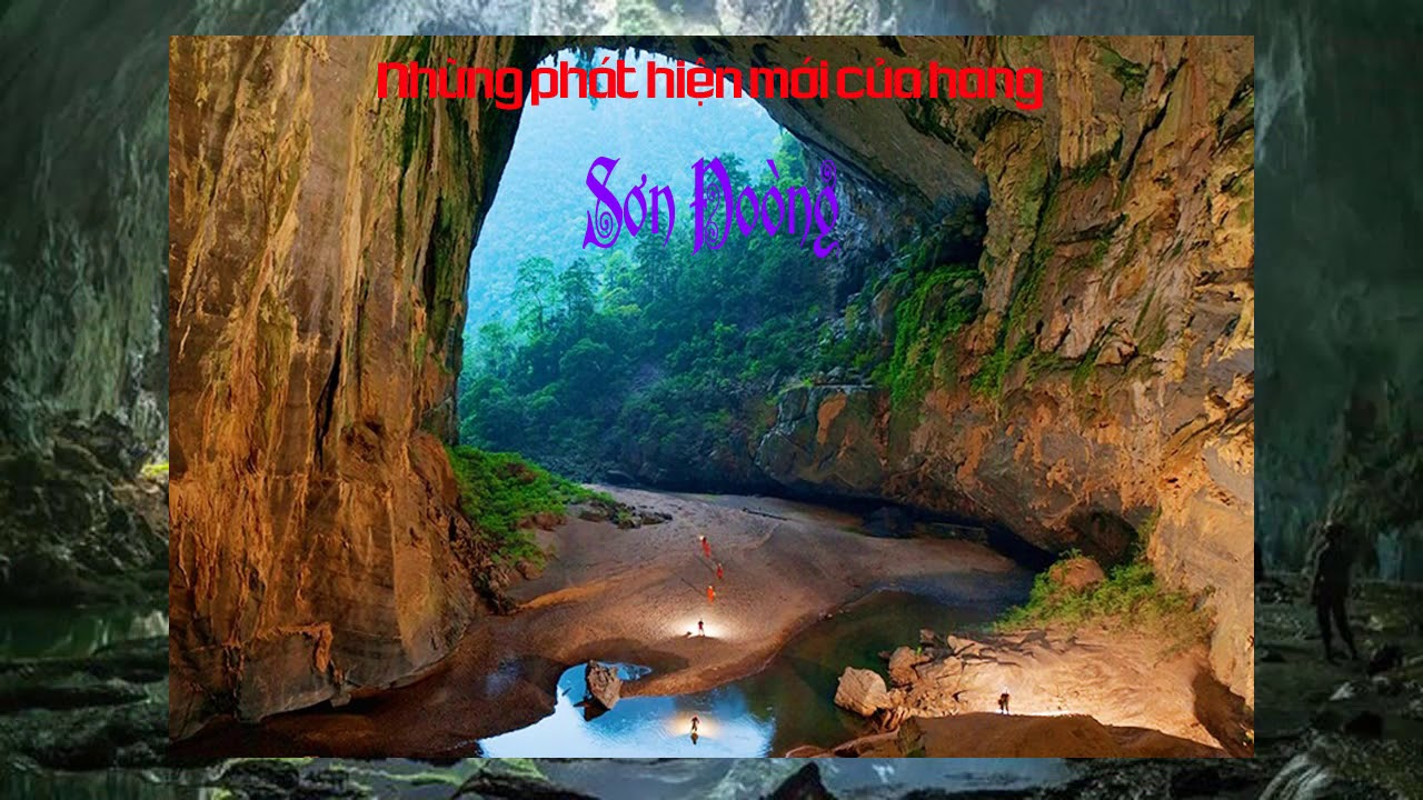 Những phát hiện mới của hang Sơn Đoòng