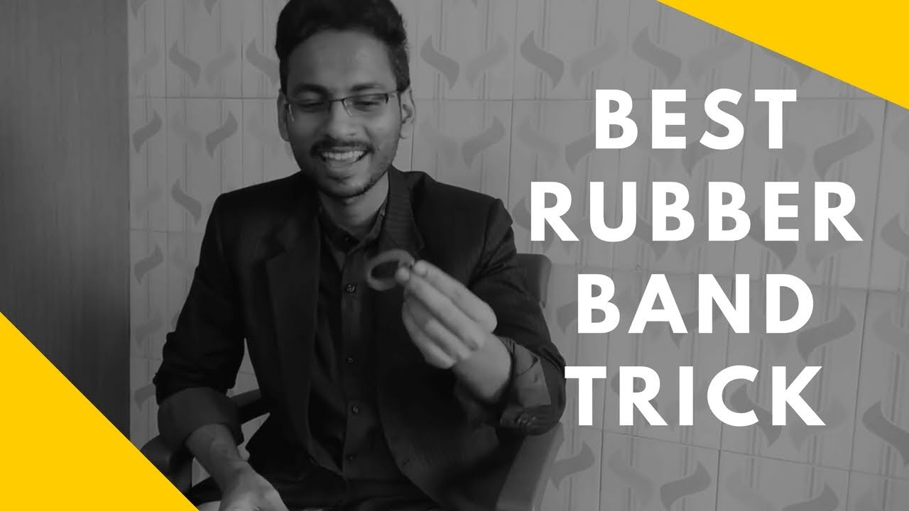 Best Rubber Band Trick Explained/ Revealed ...Magician AP ...