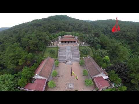 Flycam Đền thờ Chu Văn An   Chí Linh   Hải Dương