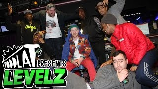 LEVELZ IN SESSION ON TODDLA T