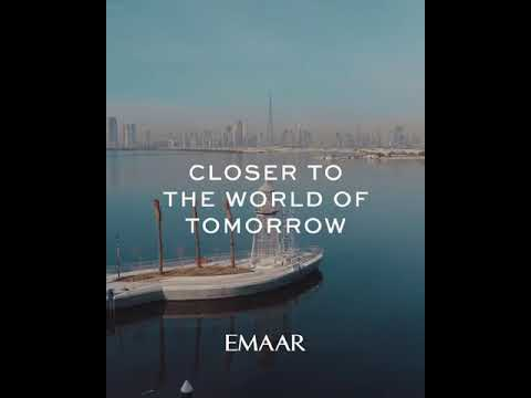 Dubai Creek Harbour Construction Progress April 2019