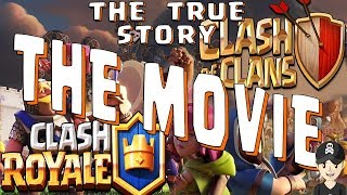 CLASH OF CLANS EVOLUTION TO CLASH ROYALE THE TRUE STORY