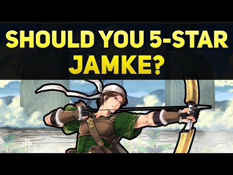 Should You 5-Star Jamke? (Is He Worth Using?) | Fire Emblem Heroes Guide