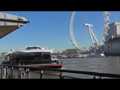 City Cruises London, February 2019, Westmister - Greenwich