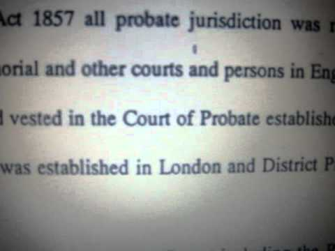 History of Probate Part 2