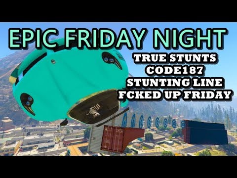 LIVE - EPIC FRIDAY NIGHT - 4x PLAYLISTS ((( GTA 5 ONLINE PS4 )))