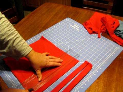 Making And Sewing T Shirt Yarn Rag Rugs Youtube