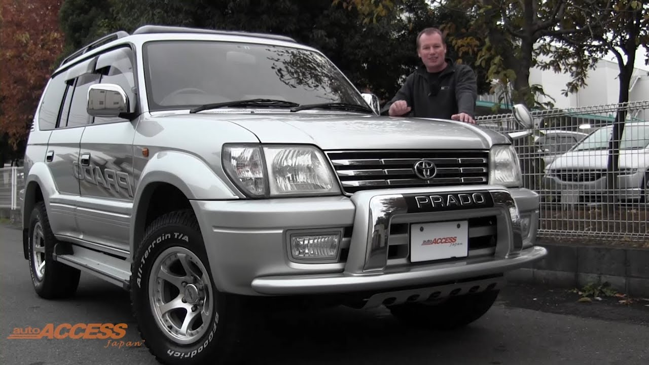 2000 Toyota Land Cruiser Prado 79K   For Sale Direct From Japan   YouTube
