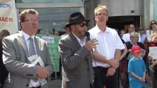 George Galloway helps National Media Museum - ITV News - 9th June 2013