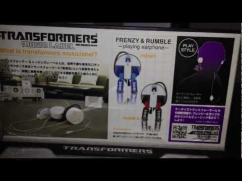 Transformers Music label Frenzy & Rumble