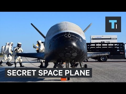 The US Air Force's top secret space plane lands after 2 year
