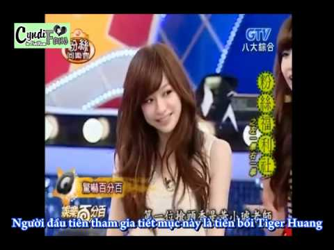 [Vietsub] Show Luo scared Cyndi Wang in 100% entertainment
