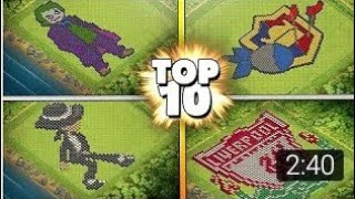 10 Insane & Funny Clash Of Clans Base Builds 2018