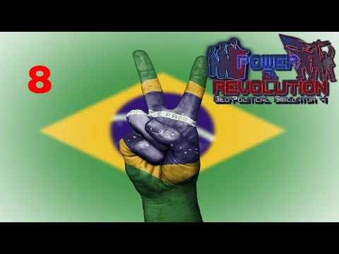 Power and Revolution (Geopolitical Simulator 4) Brazil Part 8 Conquering Uruguay