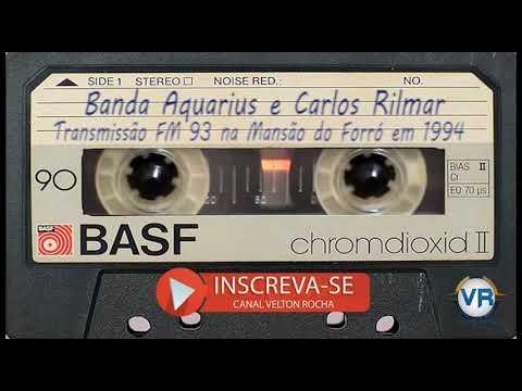 Trecho de Show Banda Aquarius e depois Carlos Rilmar trasm FM 93 em 1994