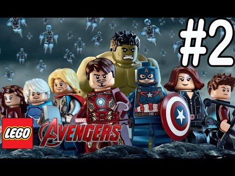 LEGO Marvel Avengers #2 | Nick Fury, Maria Hill, dan Phil Coulson!!!