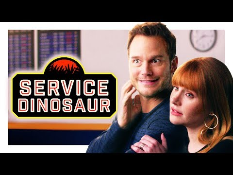 My Dinosaur Is a Service Animal (with Chris Pratt and Bryce Dallas Howard!)