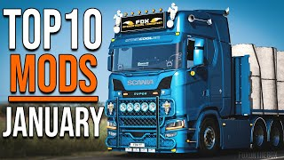 TOP 10 ETS2 MODS - JANUARY 2021 | Euro Truck Simulator 2 Mods