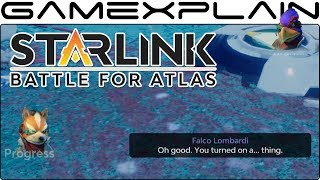 Starlink - Hunting Wolf & Destroying an Enemy Base in Star Fox Missions 1 & 2 (+ Co-Op Gameplay)