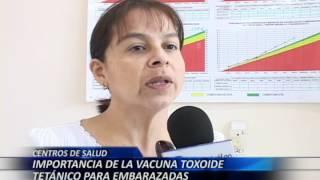 centro de salud importancia de la vacuna toxoide tetánico para embarazadas