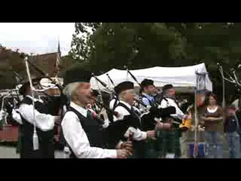 Knoxville Pipes and Drums, Dandridge, 2008
