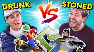 Drunk People Vs. Stoners Challenge (Mario Kart, IKEA, Building, Riddles)