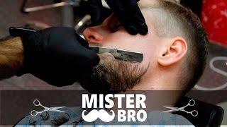 КОРОЛЕВСКОЕ бритье! БРИТЬЕ опасной бритвой. тонкости чистого бритья.