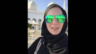 BPK walks through Grand Mosque in Abu Dhabi