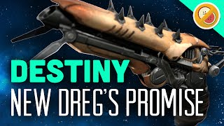 DESTINY (NEW) Dreg's Promise Exotic Sidearm Review Year 2 (April Update)