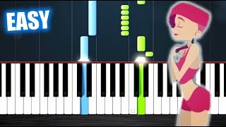 David Guetta feat Anne-Marie - Don't Leave Me Alone - EASY Piano Tutorial by PlutaX