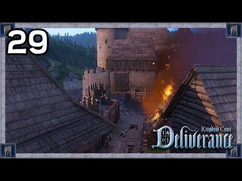 EPIC Castle Siege Battle! -  Kingdom Come: Deliverance Gameplay #29
