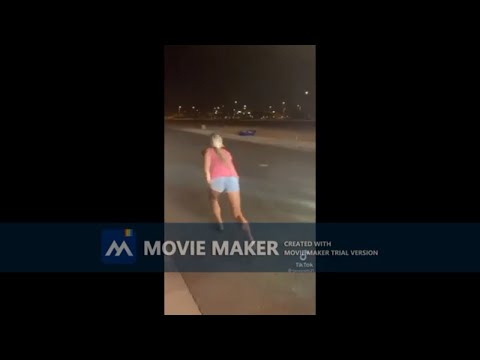 Woman Races Cop to Get Out of Ticket