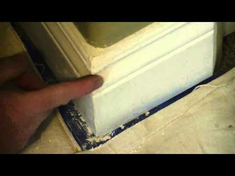 How To Fix A Chip In MDF Baseboard