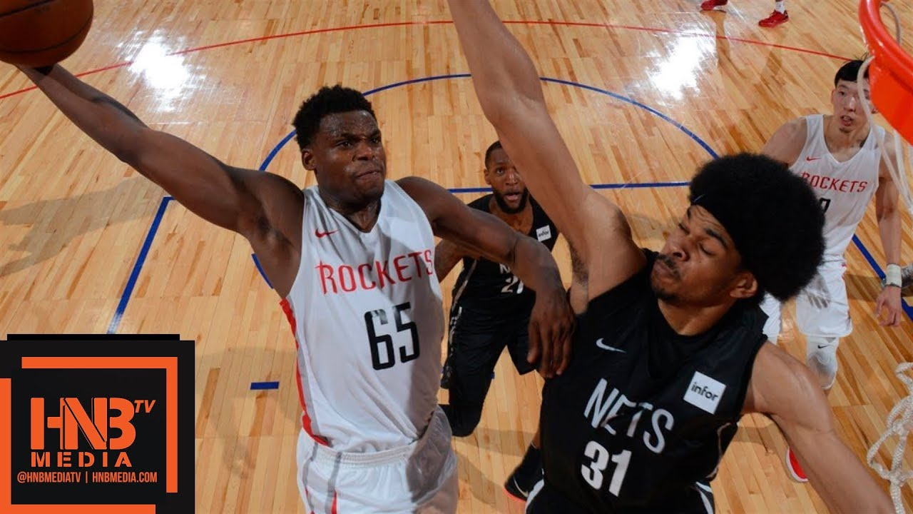 5c8ca63ea8f1 Houston Rockets vs Brooklyn Nets Full Game Highlights   July 11   2018 NBA  Summer League
