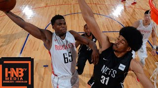 Houston Rockets vs Brooklyn Nets Full Game Highlights / July 11 / 2018 NBA Summer League