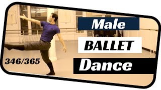 Male ballet solo- dancing everyday ballets- ballet 346