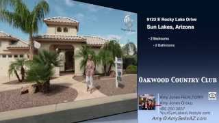 Oakwood Country Club Sun Lakes 9122 E Rocky Lake Dr Sold by Amy Jones Group