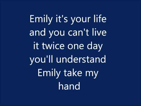 Emily - MIKA (Lyrics)