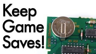 Replace Your Game Cart Batteries (Without Losing Your Saves)!