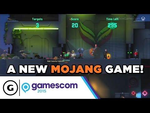 Minecraft Developer Shows Off Cobalt - Gamescom 2015