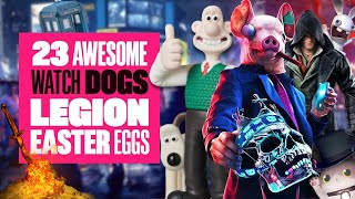 23 Watch Dogs: Legion Easter Eggs You May Have Missed - Dark Souls, Rabbids, Wallace & Gromit & MORE