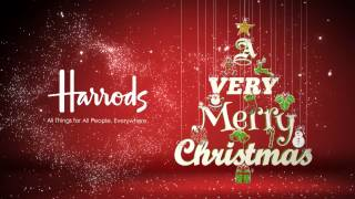 String Decorations - Christmas Card Animation Business Message Video