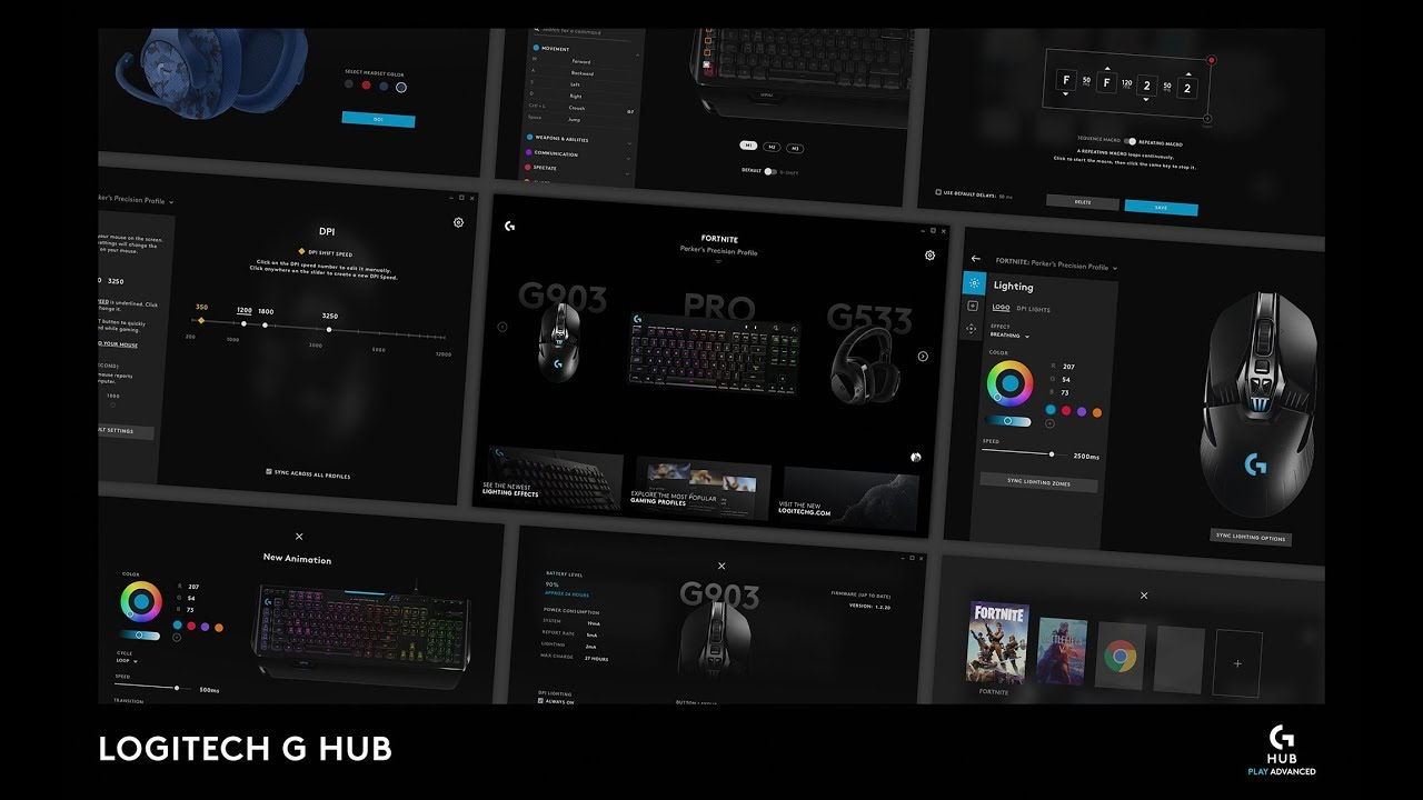 Try Logitech G HUB during Early Access - YouTube