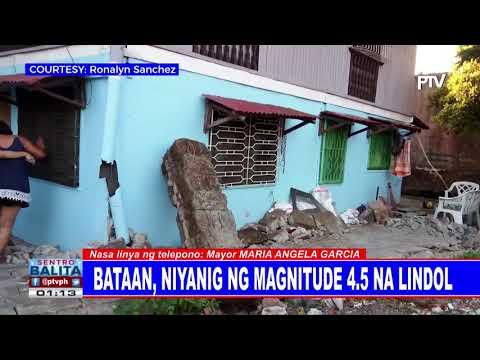 Panayam kay Dinalupihan, Bataan Mayor Maria Angela Garcia kaugnay ng magnitude 4.5 na lindol