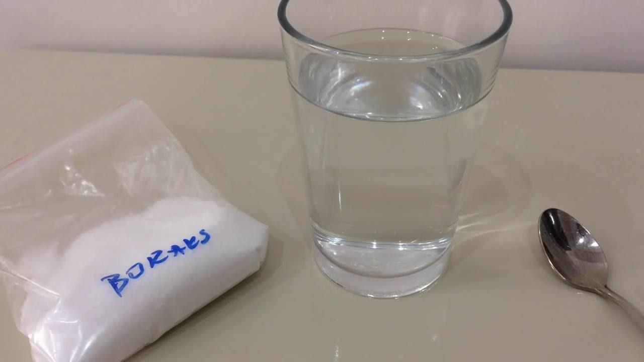 Borakslı Su Nasıl Hazırlanır Borakslı Su Yapımı Youtube