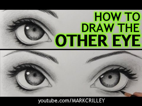 """How to Draw """"The Other Eye"""" (and Make It Match the First One)"""