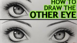 "How to Draw ""The Other Eye"" (and Make It Match the First One)"