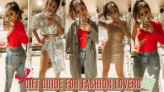 FASHION Gift Guide & TRY ON Haul Holidays w/ REVOLVE 2018