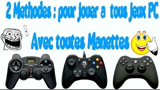Tuto : Jouer avec sa Manette (PS4-PS3 compris)a tous les jeux PC +test Rocket League